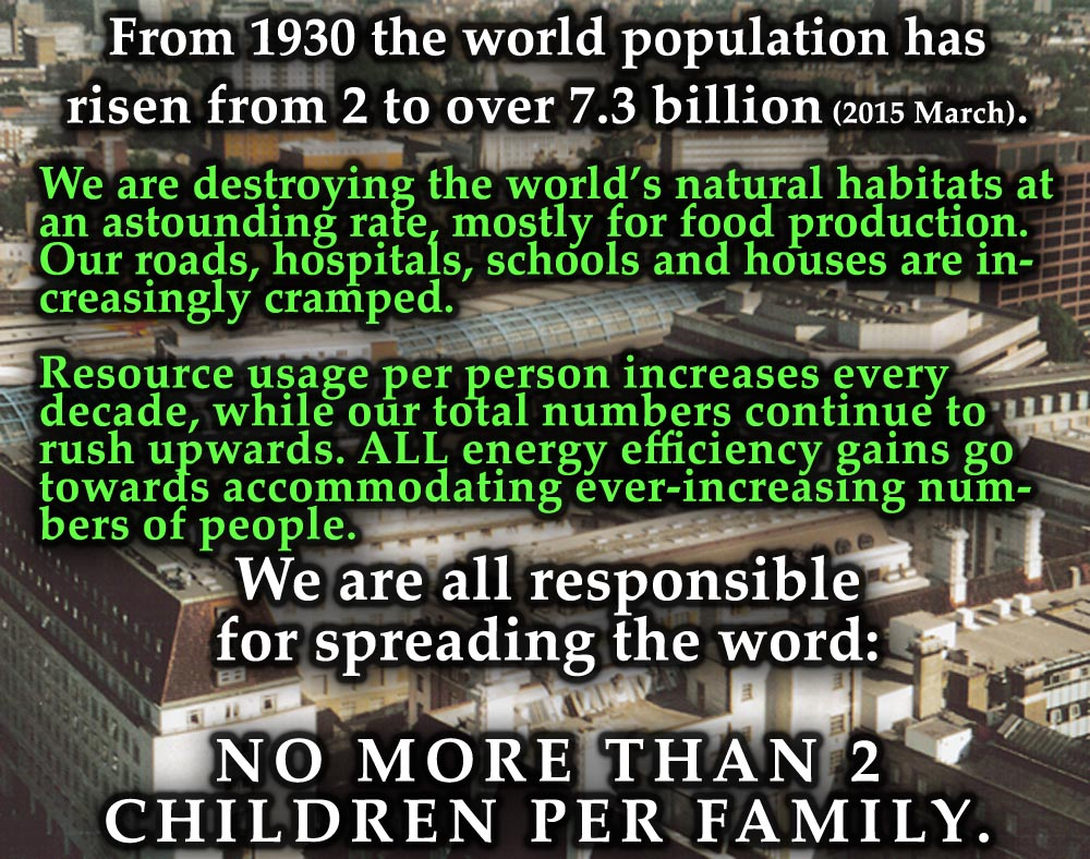 essay on impact of overpopulation What are the causes for overpopulation in china the population of modern china is approximatelt over 13 billion today and is on the rise, in1979, chinese communisi.